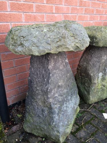 Staddle stone no 002