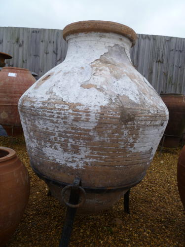 Large olive jar  circa 100 yrs old  0010