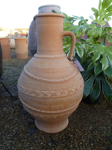 Terracotta - Amforea - water jar - olive jars