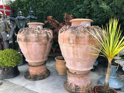 Large Italian olive jar - Orcio Imprunetino 120 cm