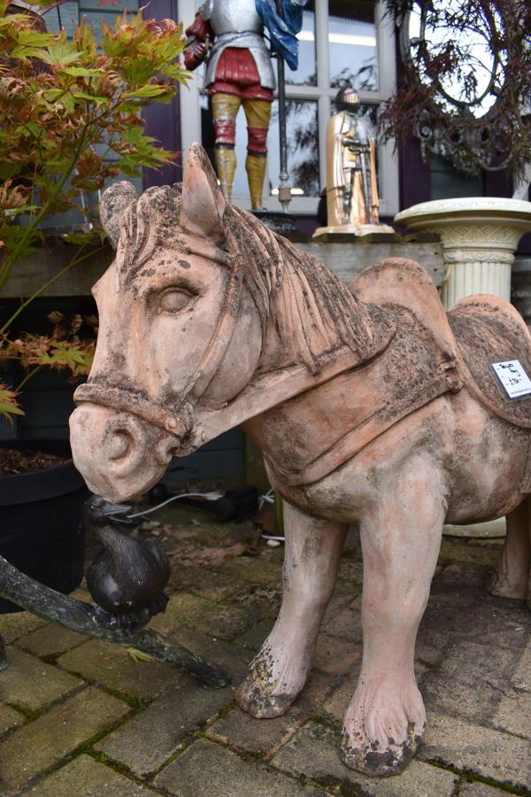 Terracotta pony
