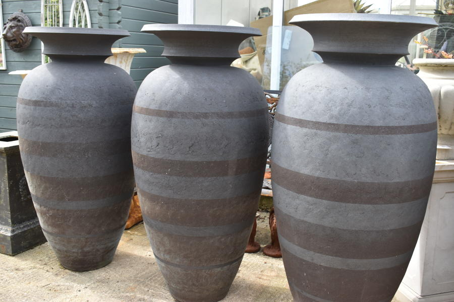A trio of Enigma pots by Phillip Simmonds