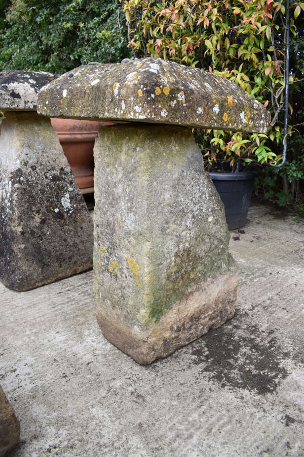 Antique staddle stone 78cm