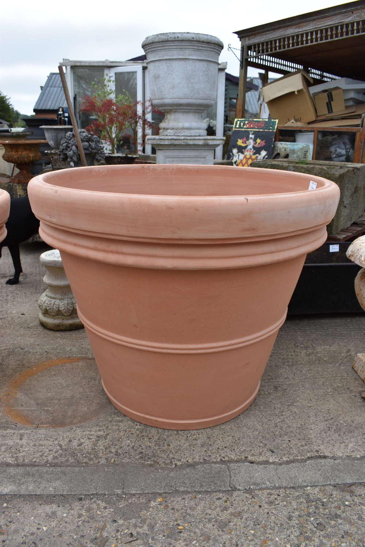 Ex Large Terracotta pots - Italian terracotta pots 110 cm dia