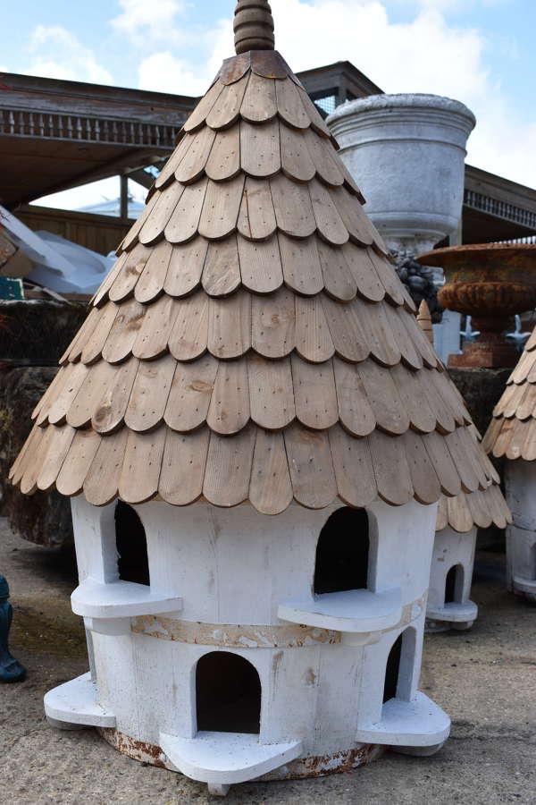 Handmade extra large half round Bird house