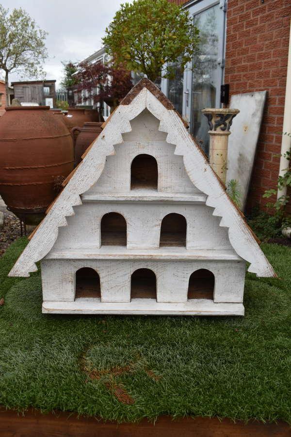 Handmade large 3 tier bird house