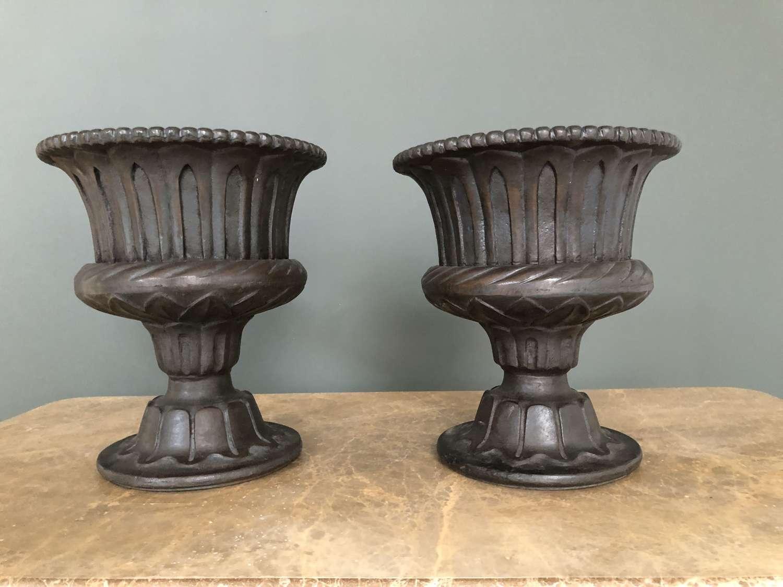 Cast Iron Urns - cast iron planters 32 cm tall