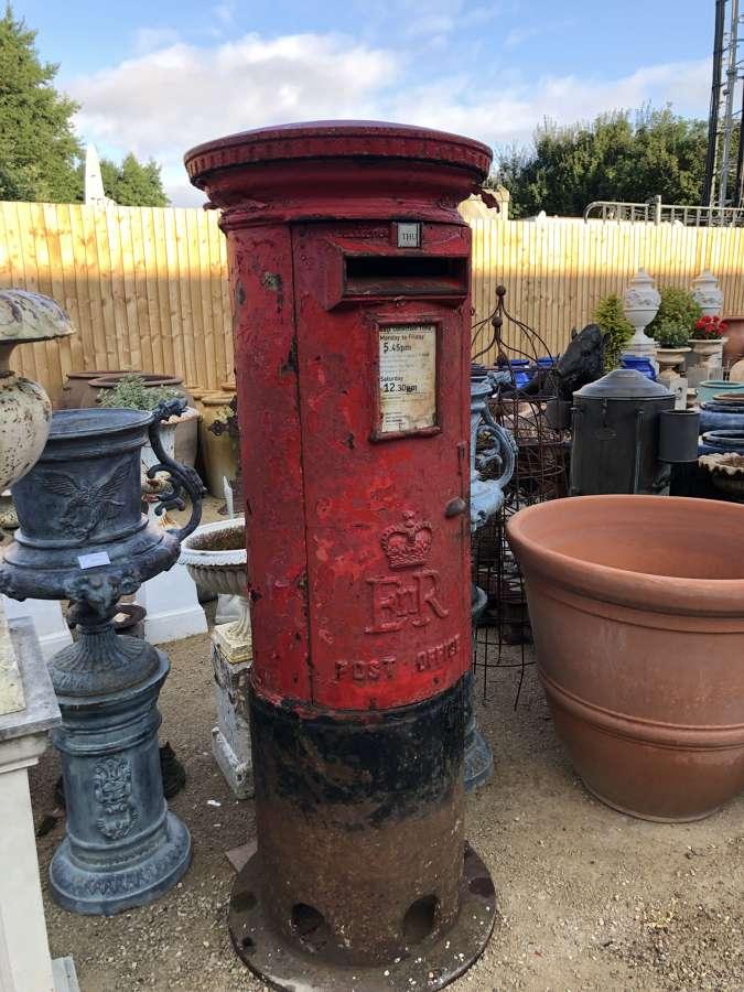 Royal Mail E.R Pillar Box