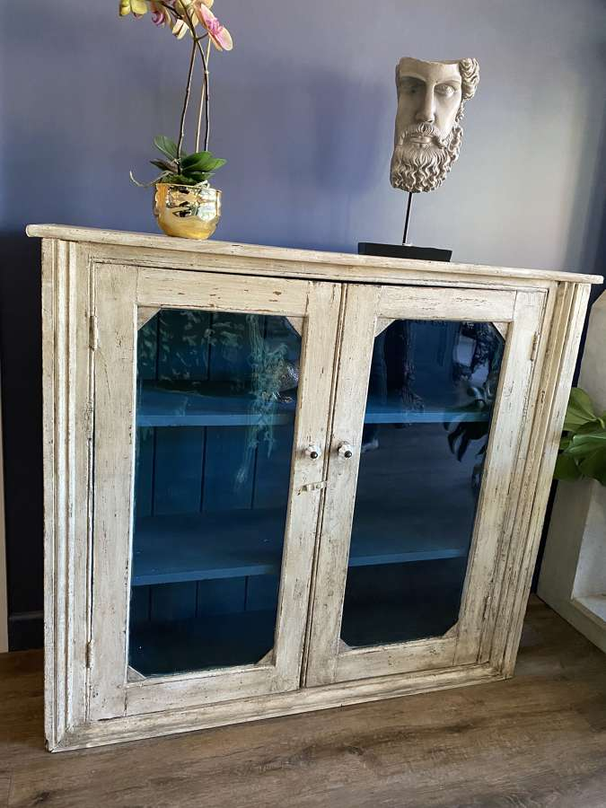 Old Distressed Pine Cabinet