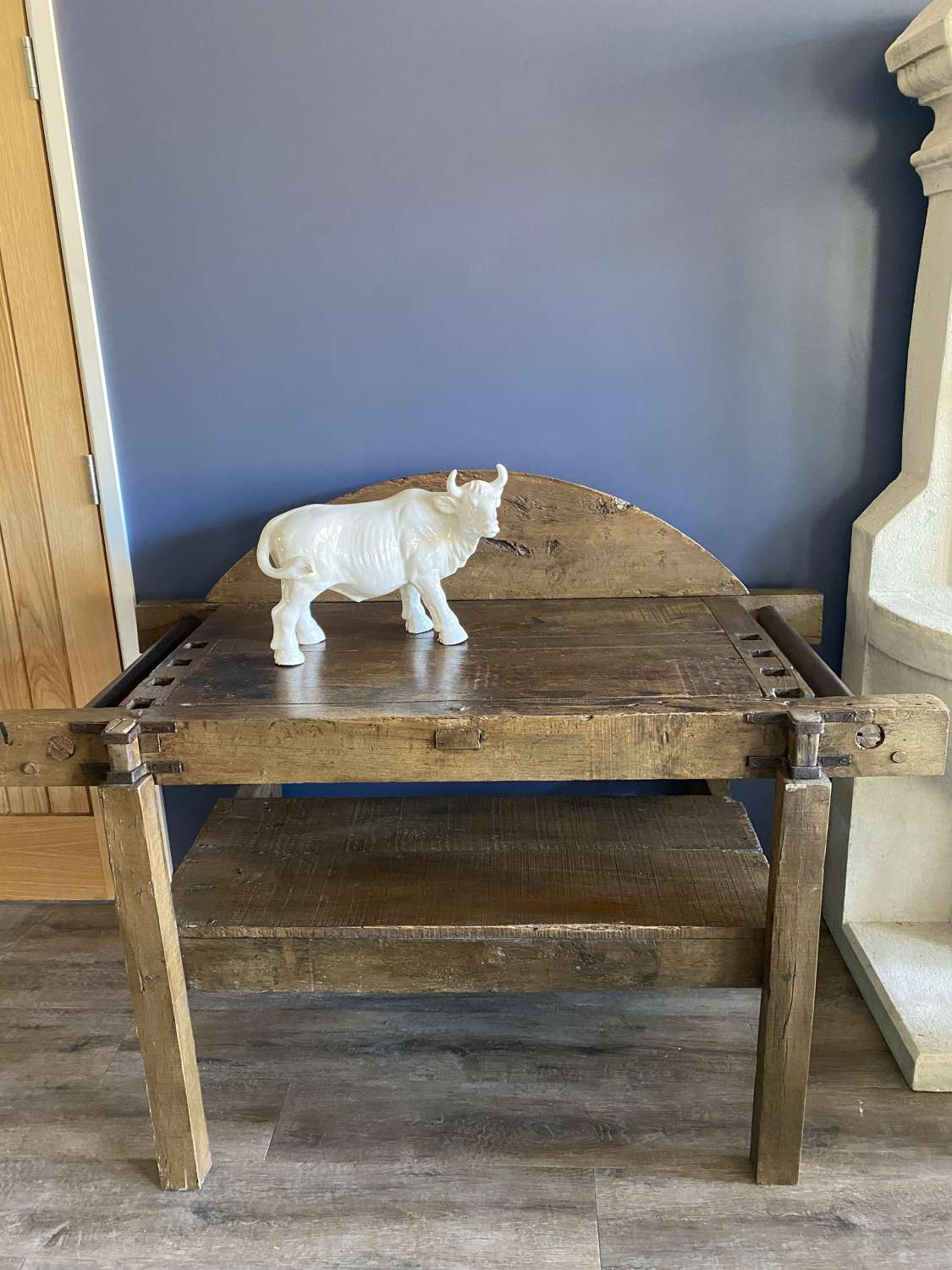 Antique Tobacco Rolling Table/ Kitchen Work Bench